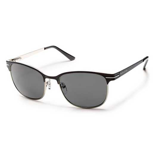 S-CUPPGYBK: Smith Suncloud Causeway Polarized Sunglasses -  BLK